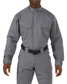 5.11 Tactical Stryke TDU Long Sleeve Shirt - 3XL, Storm, hi-res