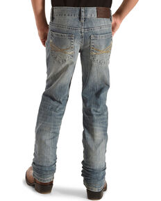 Cody James Boys' Light Wash Jeans - Boot Cut, Blue, hi-res