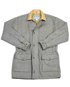 Schaefer Outfitter Men's 220 Wool Big Country Rancher Coat, Light Grey, hi-res