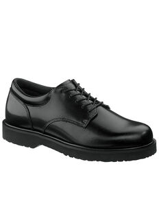 Bates Men's High Shine Duty Oxford Shoes, Black, hi-res