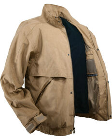 Outback Unisex Waterproof Rambler Jacket, Tan, hi-res