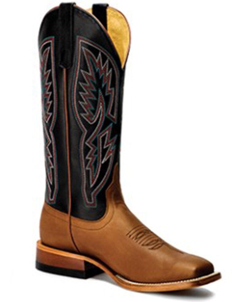 Macie Bean Women's Big Sugar Betty Western Boots - Wide Square Toe , Black, hi-res