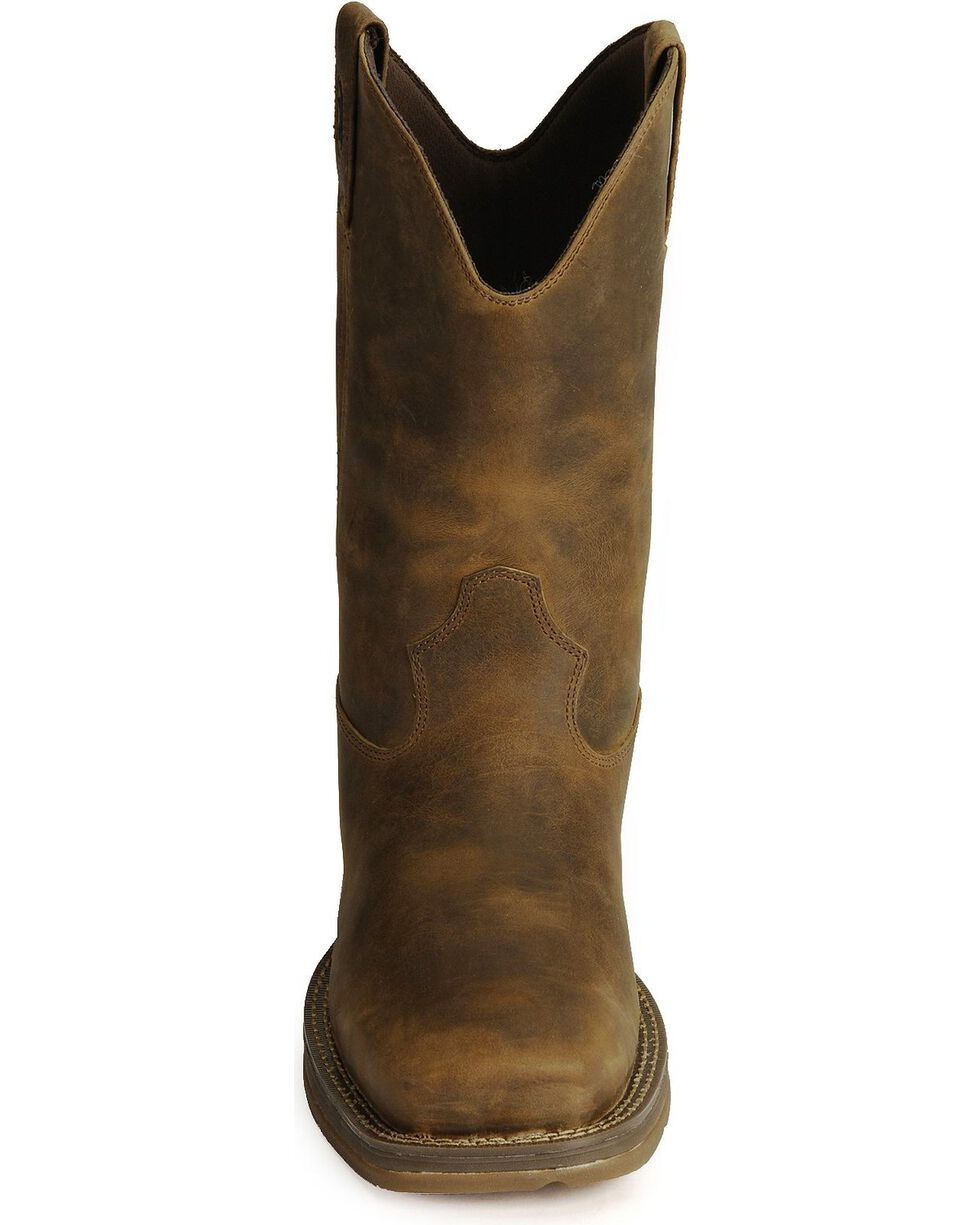 """Durango Men's Rebel 10"""" Western Boots, Brown, hi-res"""