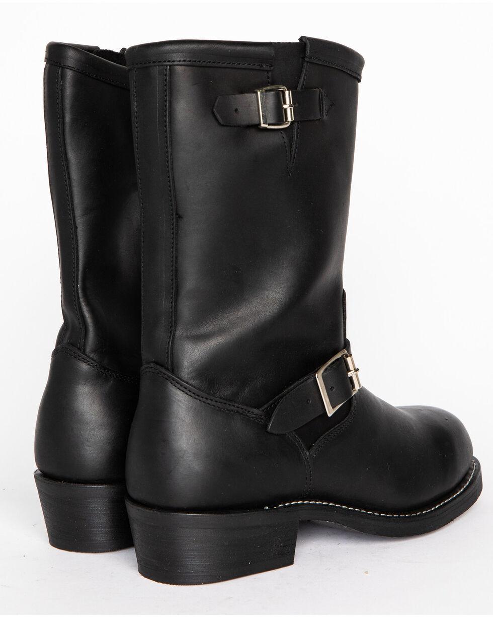 Cody James® Men's Engineer Motorcycle Boots, Black, hi-res