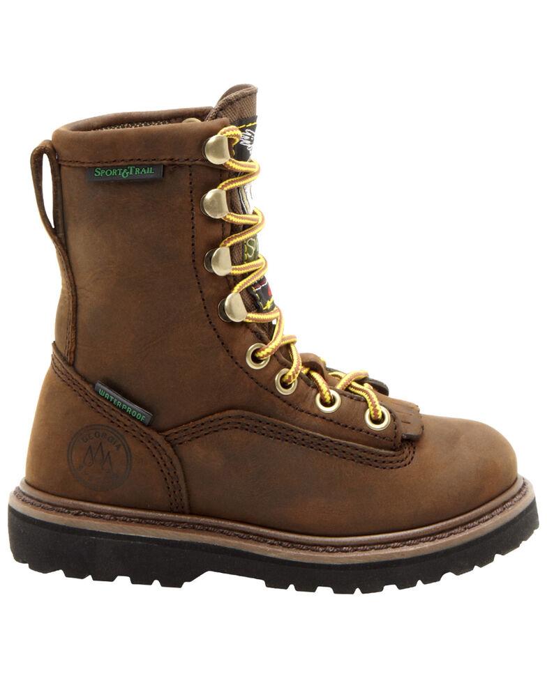 "Georgia Children's Cheyenne 6"" Hiking Boots, Tan, hi-res"