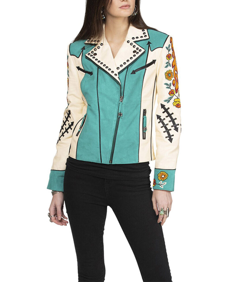 Double D Ranch Women's Bakersfield Jacket , Ivory, hi-res