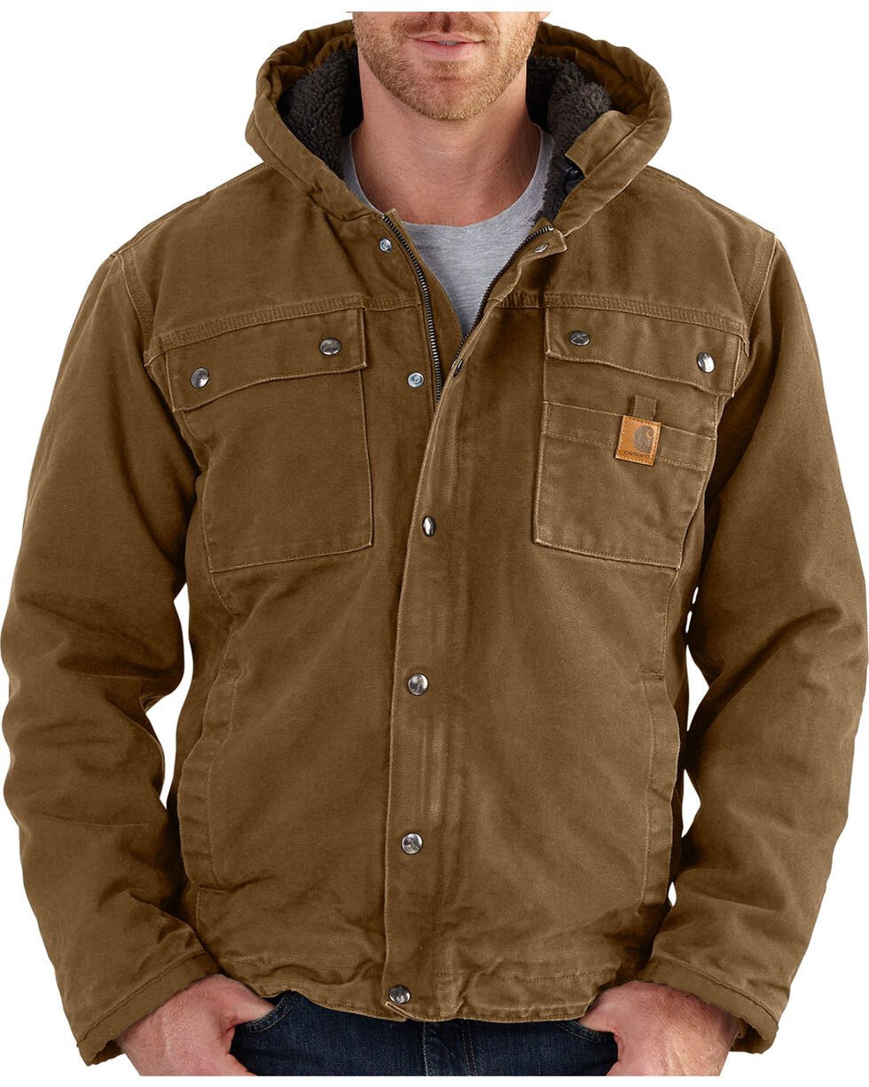 Carhartt Men's Bartlett Jacket, Brown, hi-res