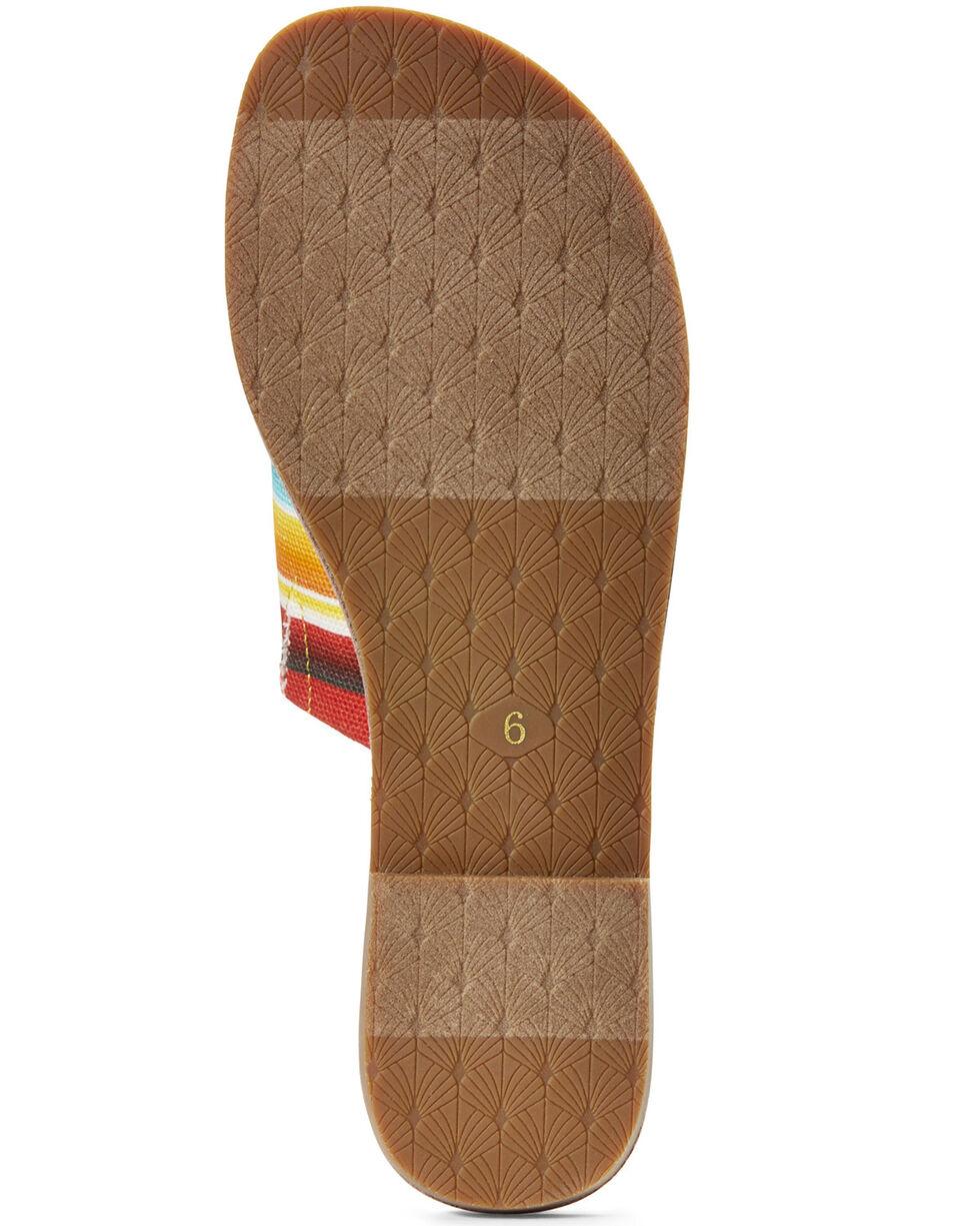 Ariat Women's Unbridled Ellie Serape Sandals, Multi, hi-res
