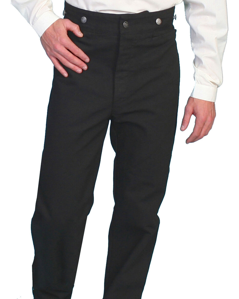 Wahmaker by Scully Canvas Pants - Tall, Black, hi-res