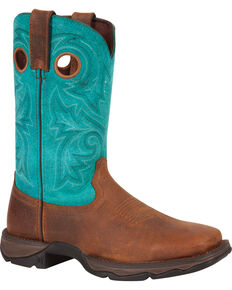 Durango Women's Lady Rebel Bar None Western Boots, Brown, hi-res