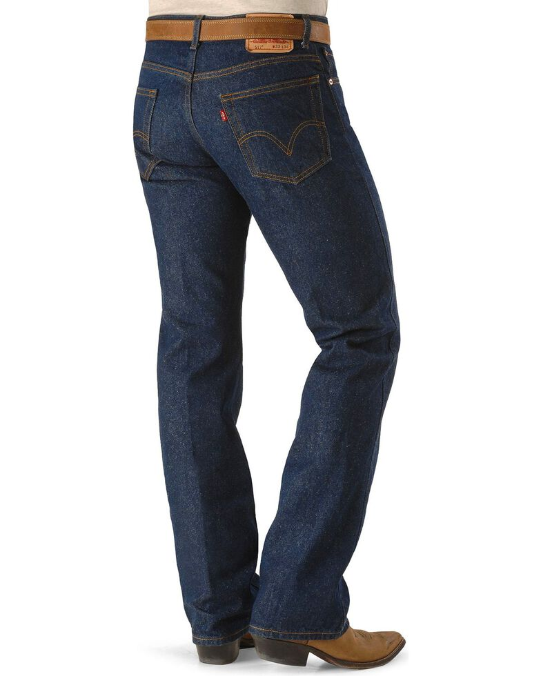 bd0096bf65a Zoomed Image Levis Men's 517 Rigid Boot Cut Jeans - Tall, Indigo, hi-res