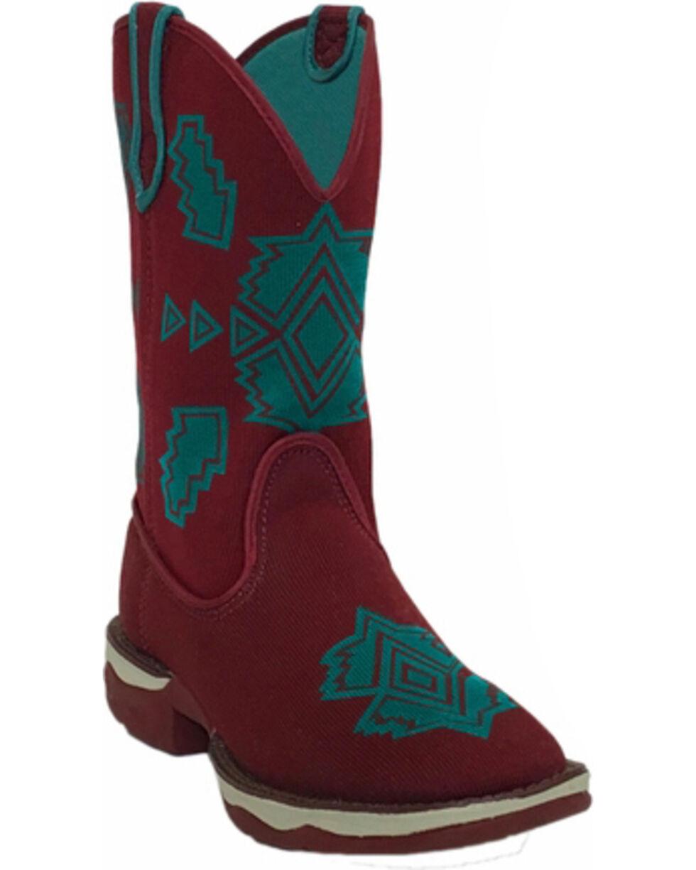 Laredo Women's Scorcher Performair Western Boots, Burgundy, hi-res