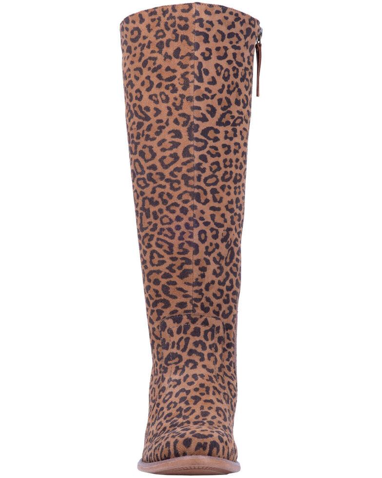 Dingo Women's Alameda Western Boots - Round Toe, Leopard, hi-res