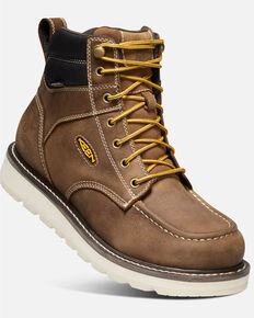 "Keen Men's Cincinnati 6"" Waterproof Boots, Brown, hi-res"