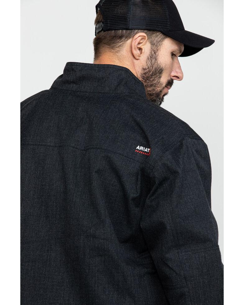 Ariat Men's FR H20 Waterproof Work Parka - Big, Black, hi-res