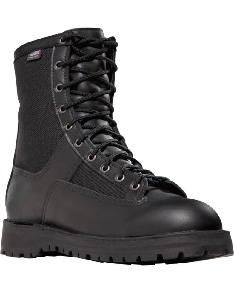Danner Men's Acadia Steel Toe Uniform Boots, Black, hi-res