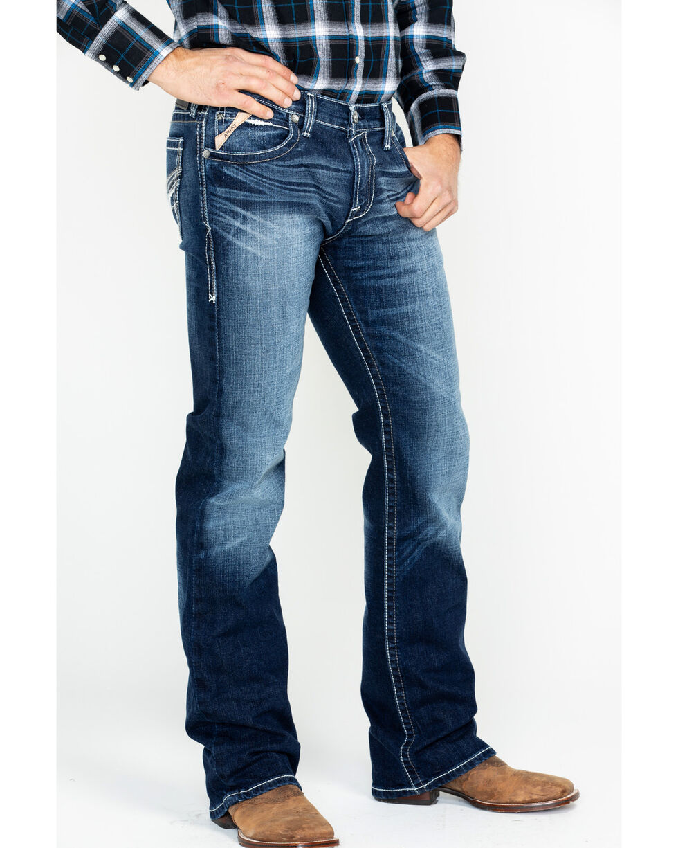 Ariat Men's Colton Cadet Jeans, Indigo, hi-res