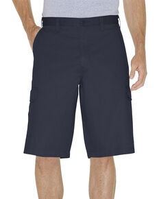 "Dickies Loose Fit 13"" Cargo Shorts - Big & Tall, Navy, hi-res"