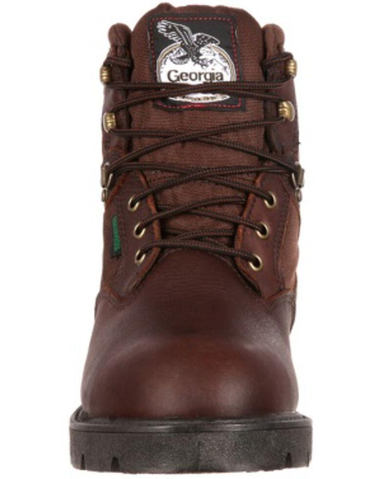 b448237f1fd Georgia Boot Men's Homeland Waterproof Work Boots - Soft Toe
