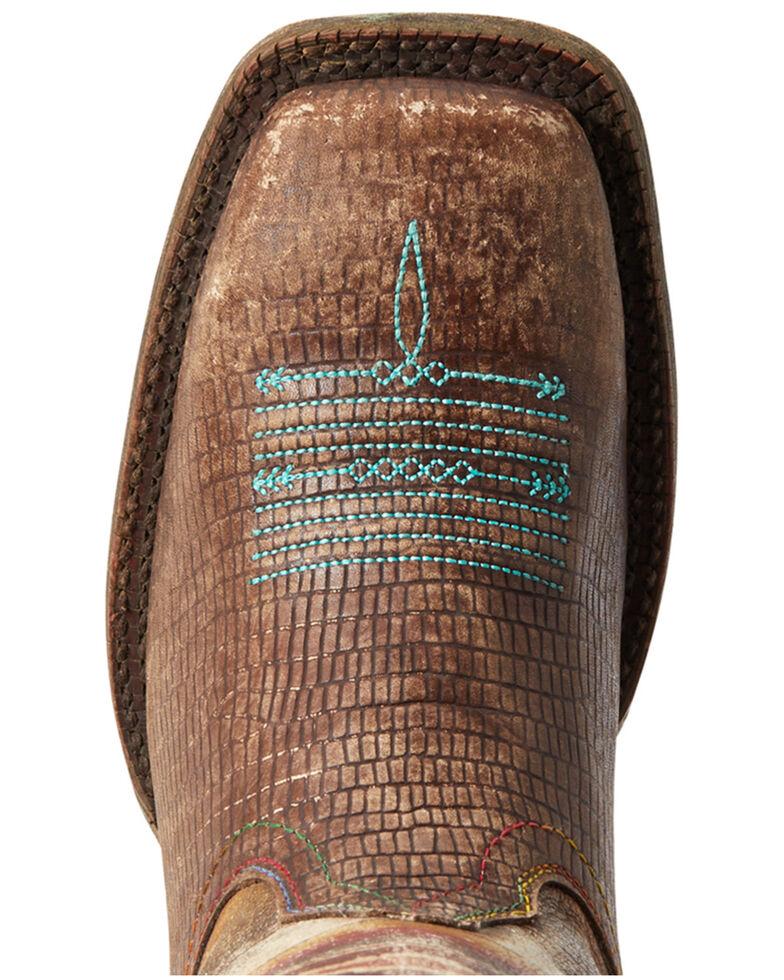 Ariat Women's Serape Savanna Western Boots - Wide Squar Toe, Brown, hi-res