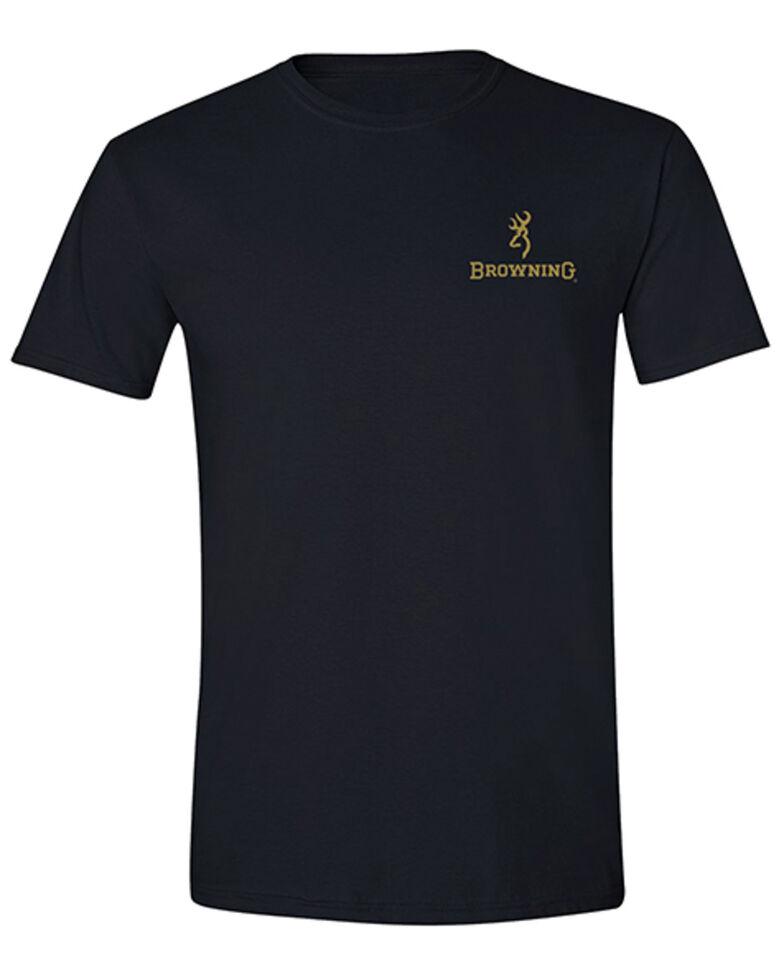 Browning Men's Black Camo Over Under Logo Short Sleeve T-Shirt , Black, hi-res