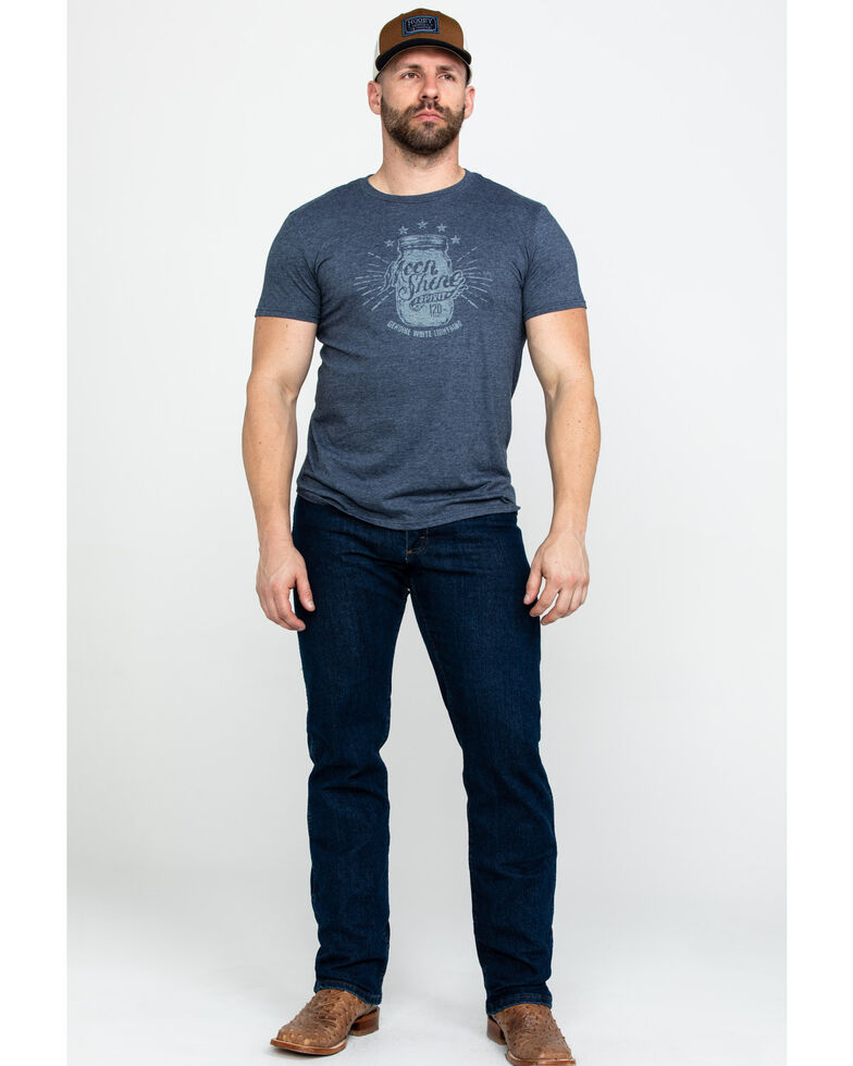 Moonshine Spirit Men's Jar Inside Out Graphic T-Shirt , Navy, hi-res