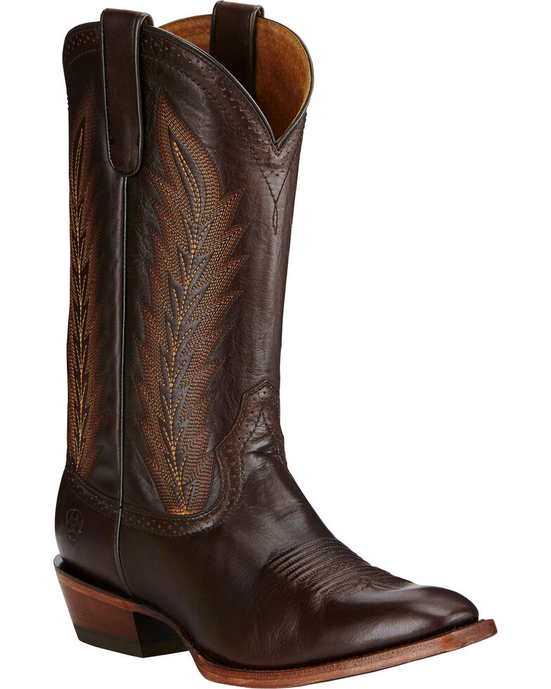 Ariat Men's High Roller Western Boots, Chocolate, hi-res