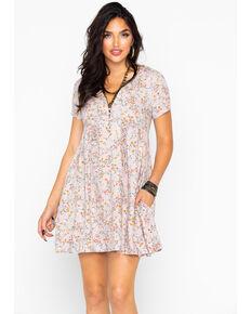 Idyllwind Women's Meadow Mini Dress, Blush, hi-res