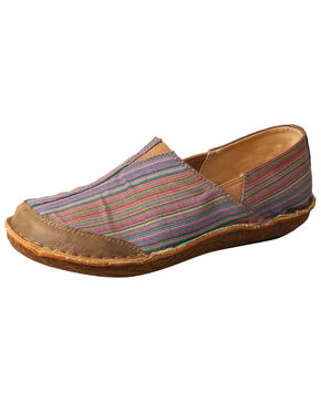 Twisted X Women's Leather Wrap Slip-On Shoes - Moc Toe, Multi, hi-res