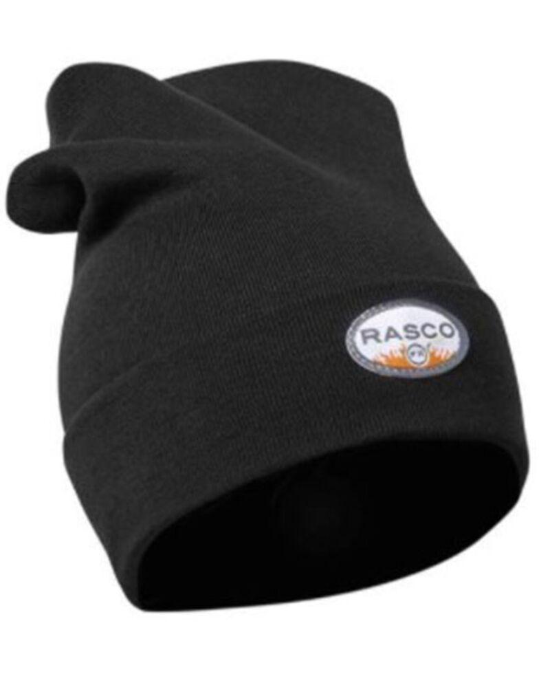 Rasco Men's FR Utility Work Beanie , Black, hi-res