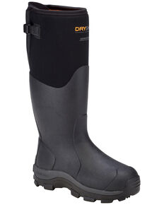 Dryshod Men's Haymaker Gusset Boots, Black, hi-res
