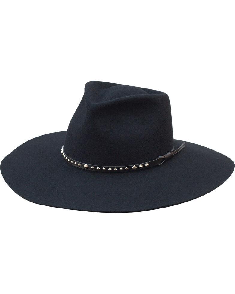 Silverado Women's Oakley Black Crushable Wool Floppy Brim Hat, Black, hi-res