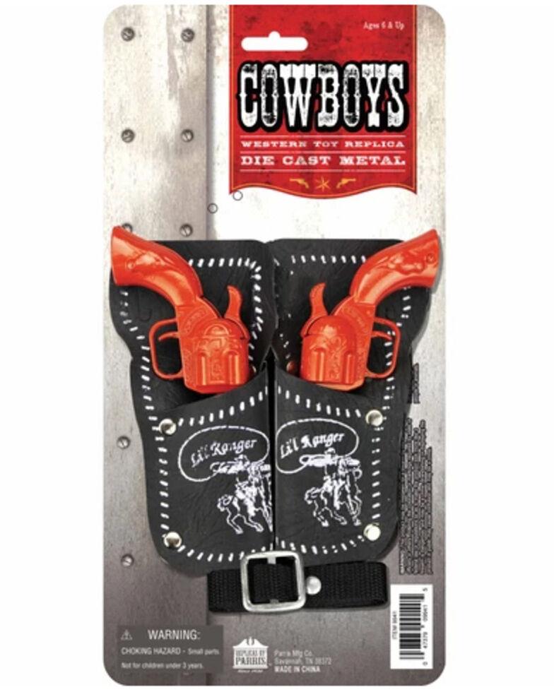 Parris Boys' Double Card Gun Toy Set, No Color, hi-res