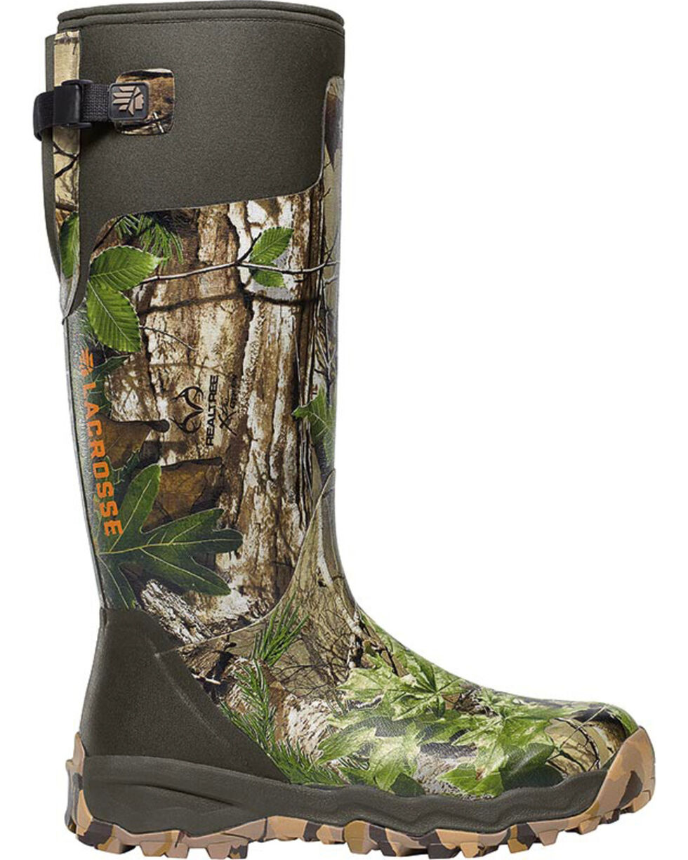 LaCrosse Women's Alphaburly Pro Realtree Xtra Hunting Boots, Brown, hi-res