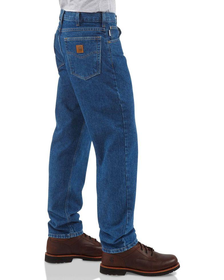 Carhartt Men's Traditional Fit Jeans, Dark Stone, hi-res