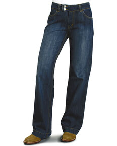 Stetson Women's City Denim Trousers, Denim, hi-res