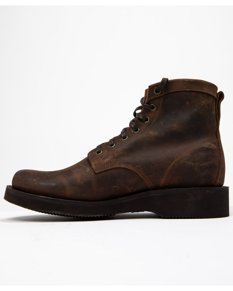 Cody James Men's Wedge Dark Horse Chukka Boots - Round Toe, Brown, hi-res