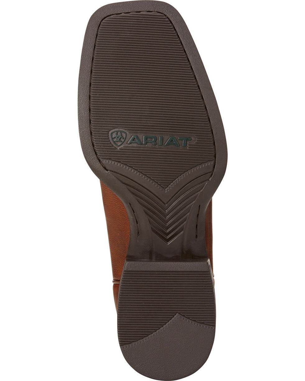 Ariat Men's Sport Wide Square Toe Western Boots, Tan, hi-res