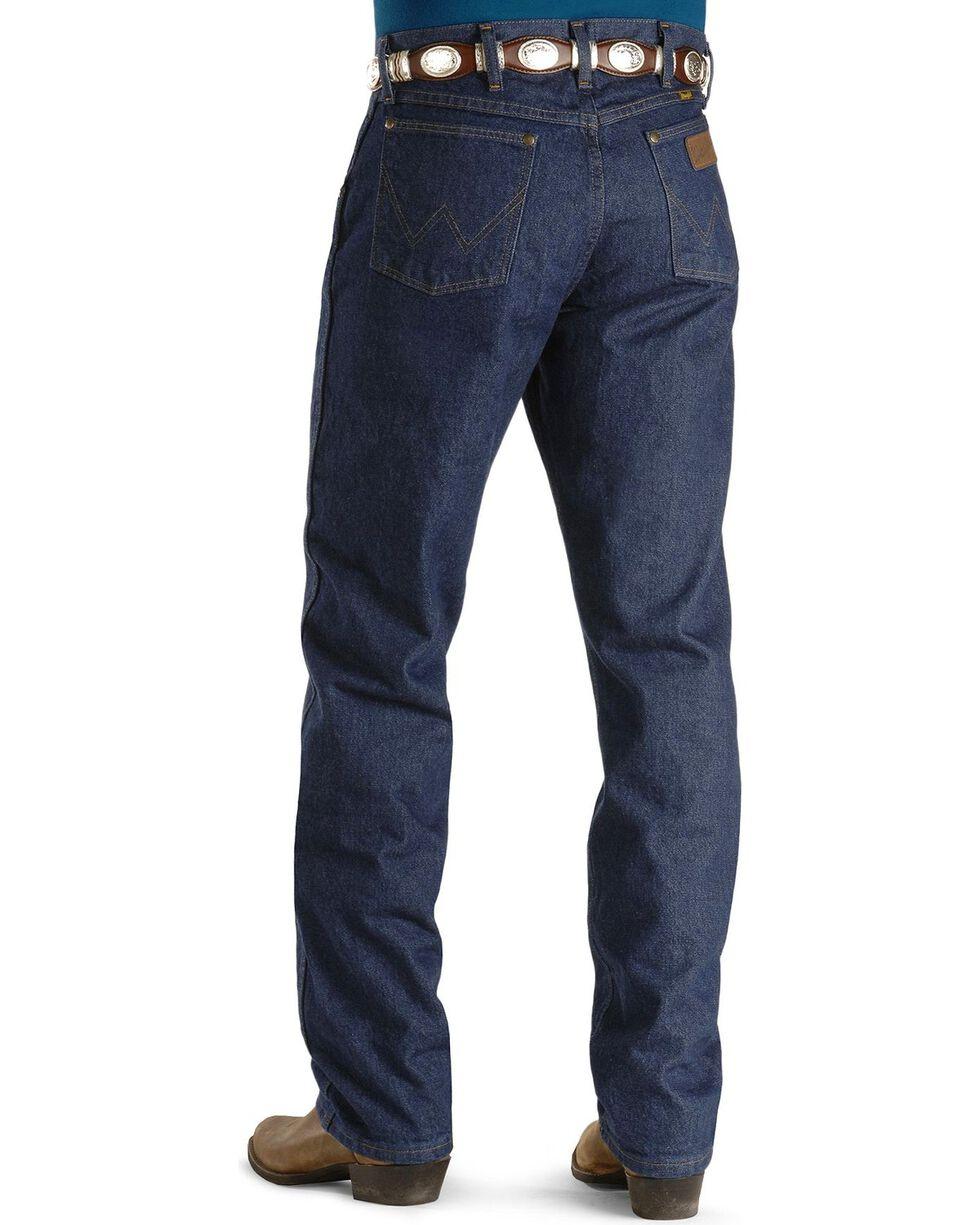 Wrangler 47MWZ Premium Performance Cowboy Cut Regular Fit Prewashed Jeans, Indigo, hi-res