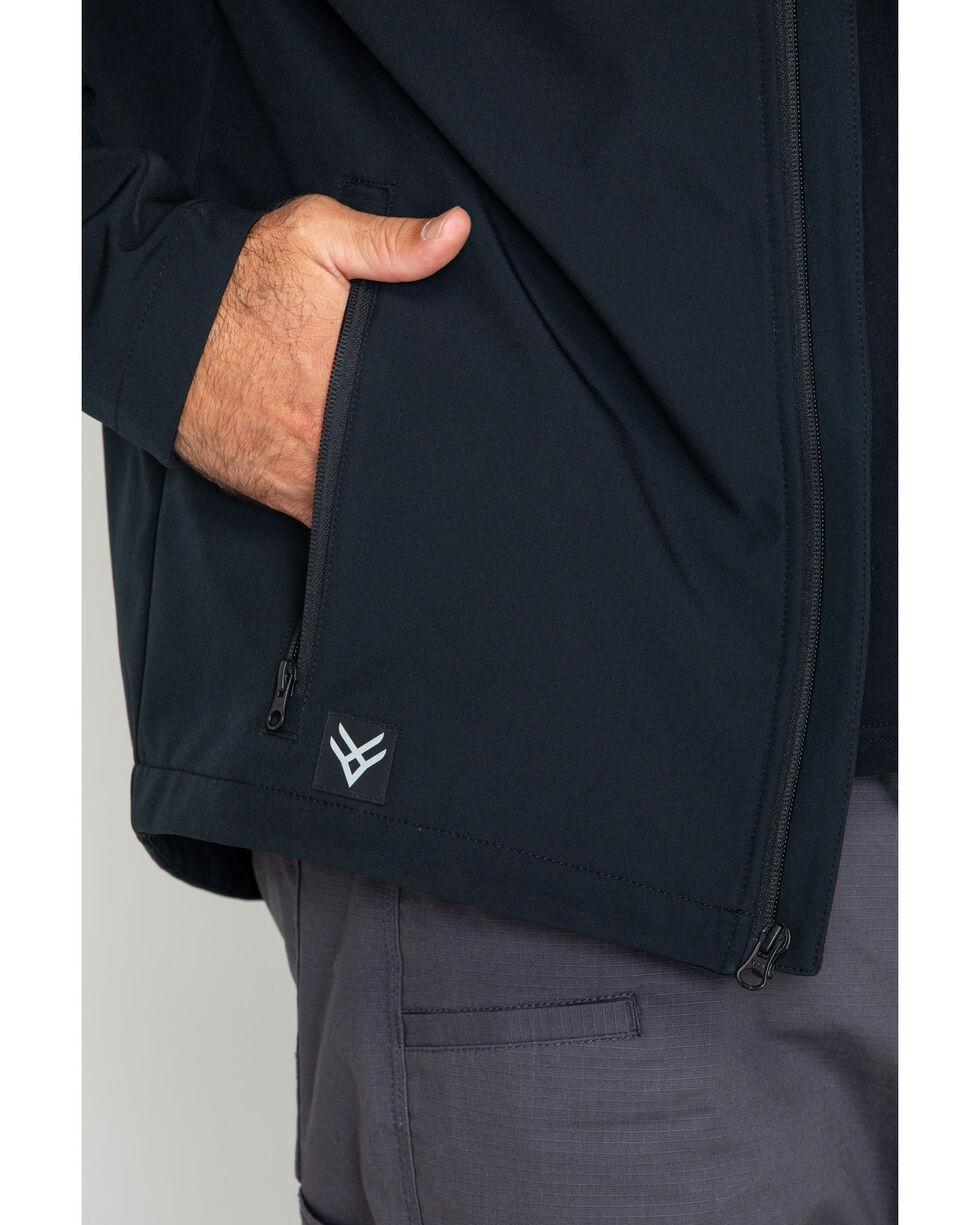 Hawx Men's Soft-Shell Work Jacket , Black, hi-res