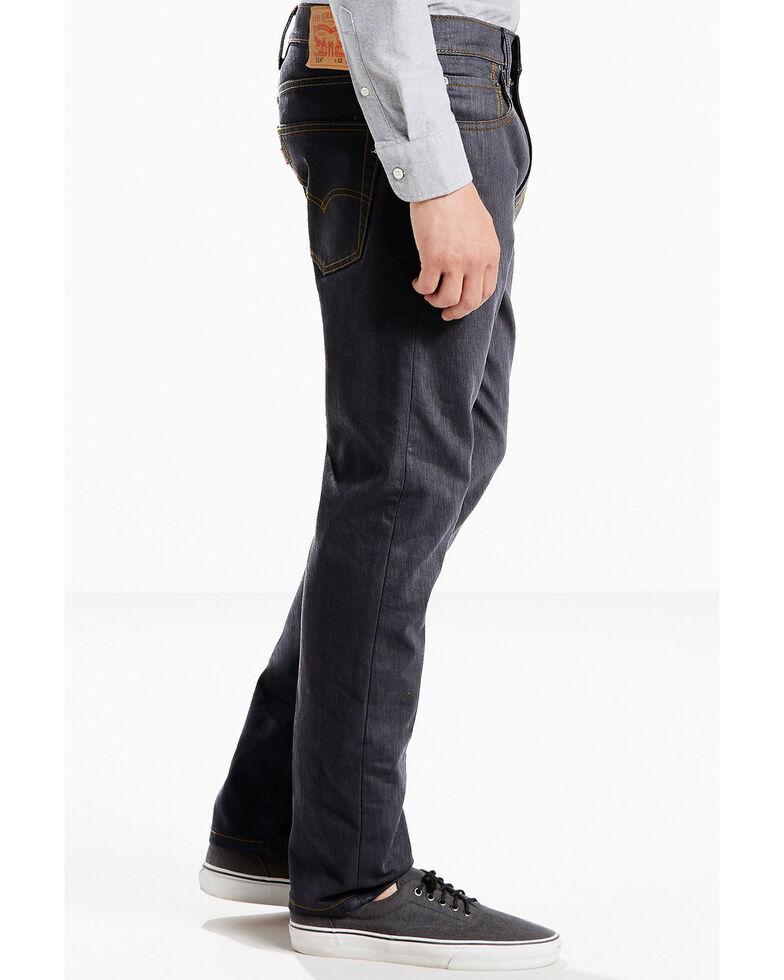 Levis Men's 502 Regular Tapered Fit Jeans , Blue, hi-res