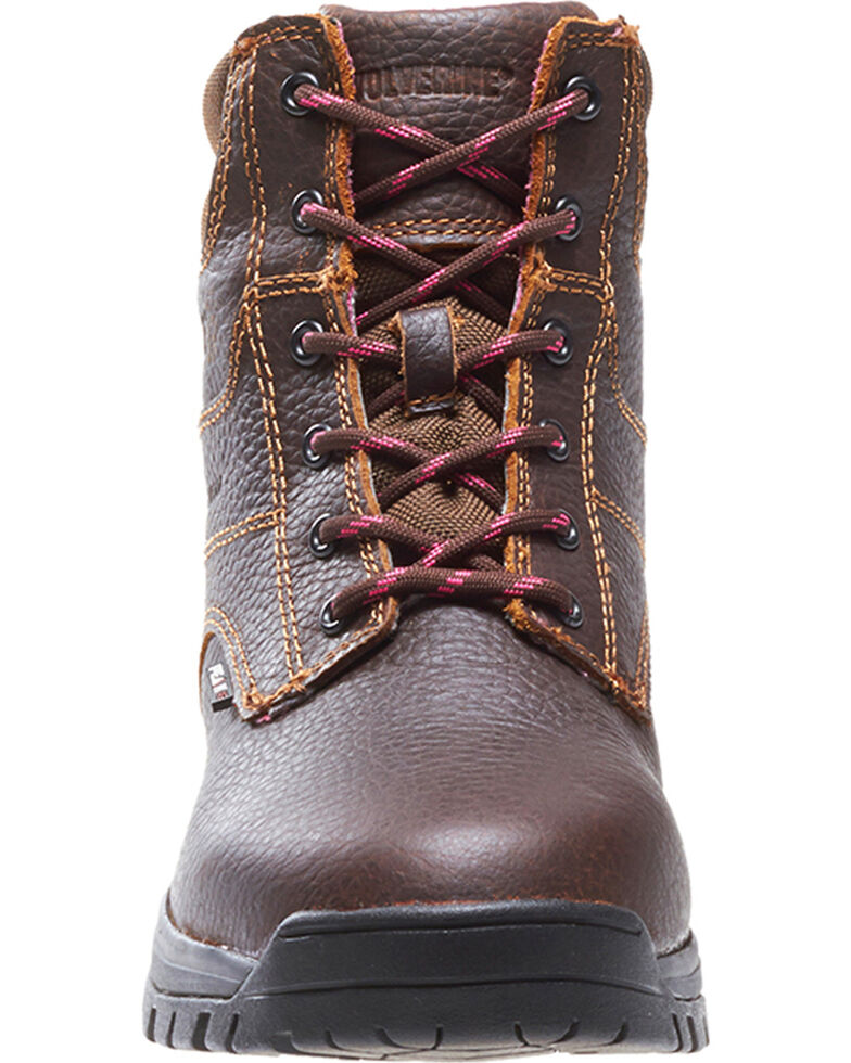 f765fd2308b Wolverine Women's Piper Waterproof Work Boots
