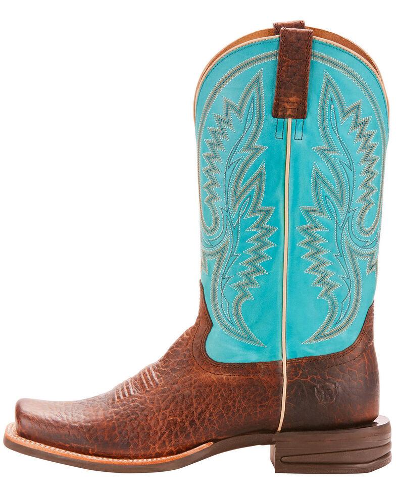 Ariat Men's Relentless Advantage Banker Cowboy Boots - Square Toe , , hi-res