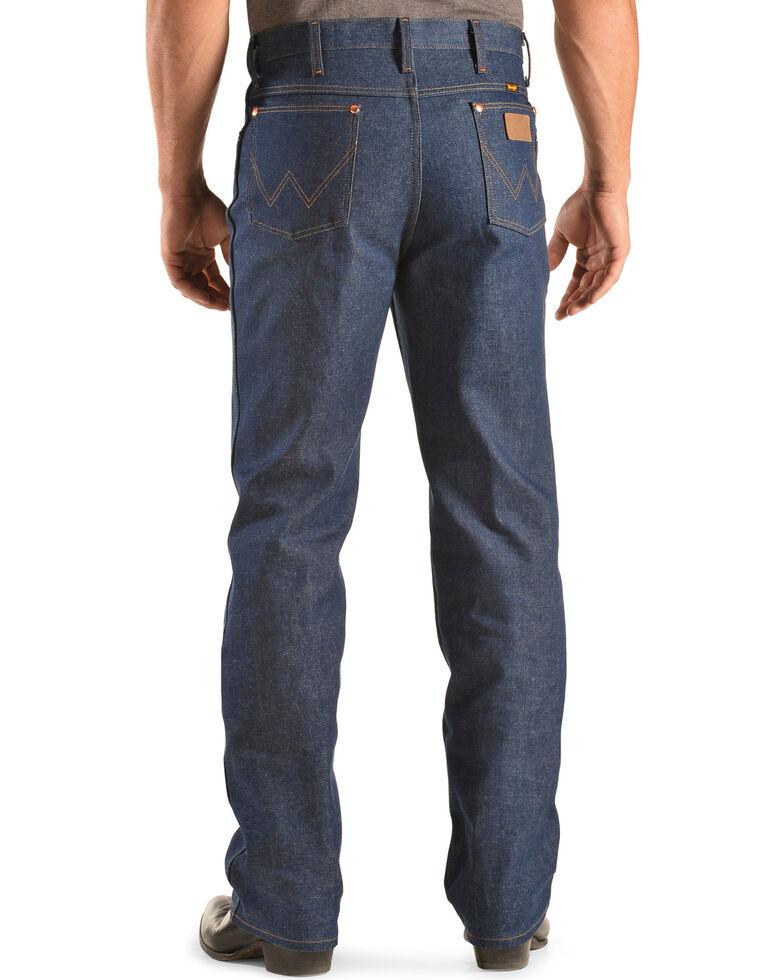 Wrangler Men's Slim Fit Rigid Jeans, Indigo, hi-res