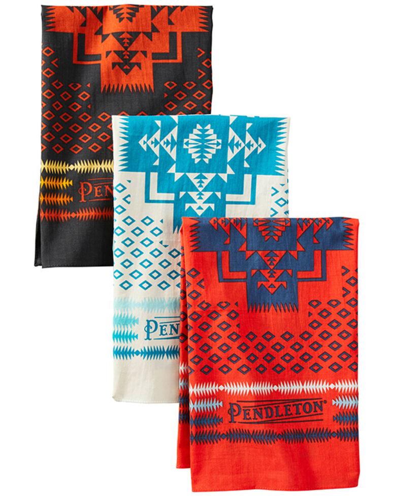 Pendleton Geo Print Bandanas - 3 Pack, Multi, hi-res