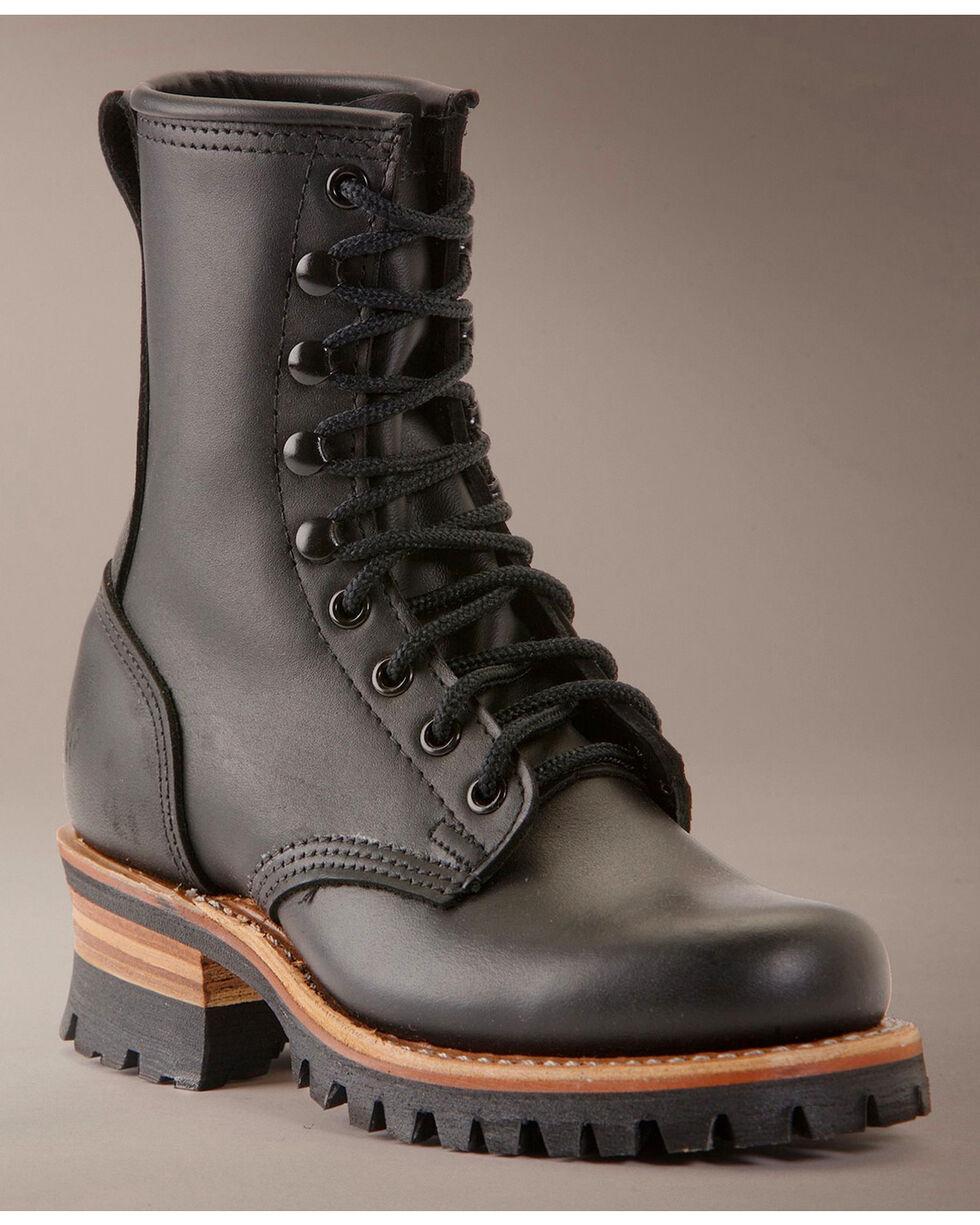 Frye Women's Logger 8G Boots, Black, hi-res