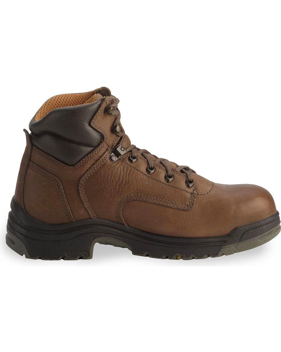 "Timberland Pro Men's Titan 6"" Work Boots, Coffee, hi-res"