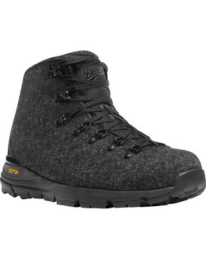 Danner Men's Black Mountain 600 Enduroweave Hiking Boots - Round Toe, Black, hi-res