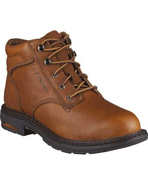 Ariat Women's Macey Work Boots, Peanut, hi-res
