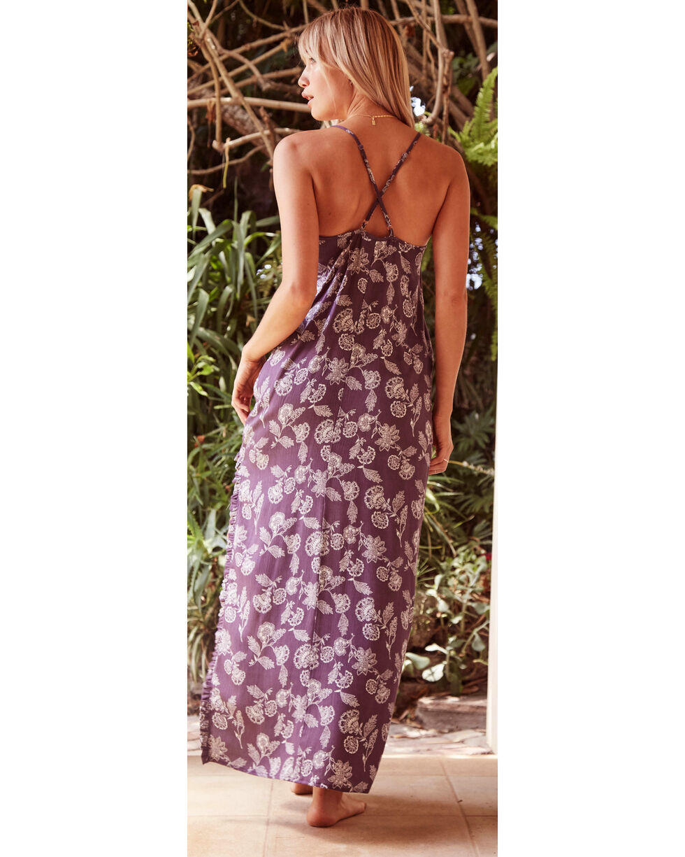 Sage the Label Women's Purple Isle of Capri Maxi Dress , Purple, hi-res